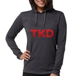 TKD TaeKwonDo Womens Hooded Shirt