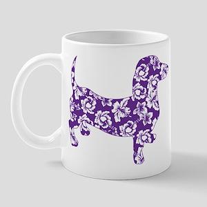 Aloha Doxies in Purple Mug