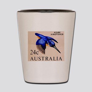 1966 Australia Azure Kingfisher Postage Stamp Shot