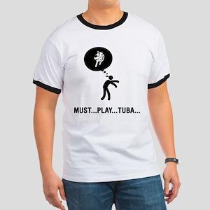 Tuba Player Ringer T