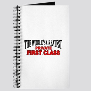 """""""The World's Greatest Private First Class"""" Journal"""