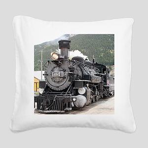 Steam train engine Silverton, Colorado, USA 8 Squa