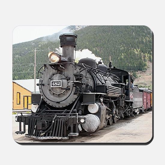 Steam train engine Silverton, Colorado, USA 8 Mous