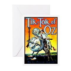 Tik-Tok of Oz Greeting Cards (Pk of 10)