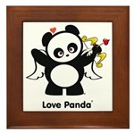 Love Panda® Framed Tile