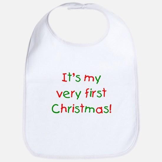 It's my very first Christmas Bib
