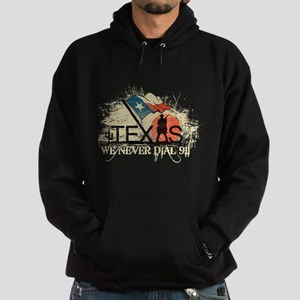 Don't mess with Texas Hoodie (dark)
