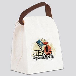 Don't mess with Texas Canvas Lunch Bag