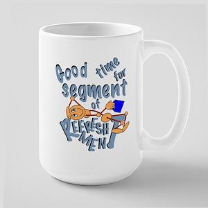 Good Time for Segment of Refreshment Mugs