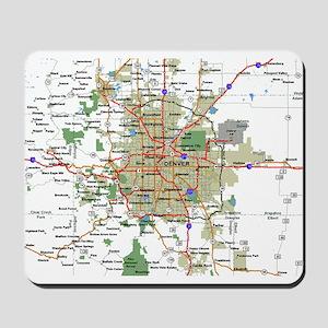 Denver Map Mousepad