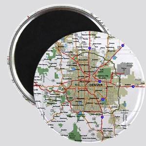 Denver Map Magnet