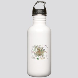 Denver Map Stainless Water Bottle 1.0L