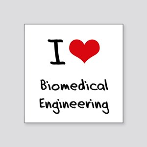 I Love BIOMEDICAL ENGINEERING Sticker