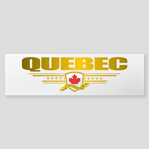 Quebec Pride Bumper Sticker