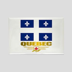 Quebec Pride Rectangle Magnet