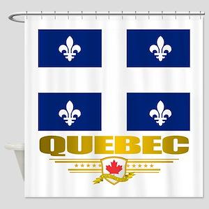 Quebec Pride Shower Curtain