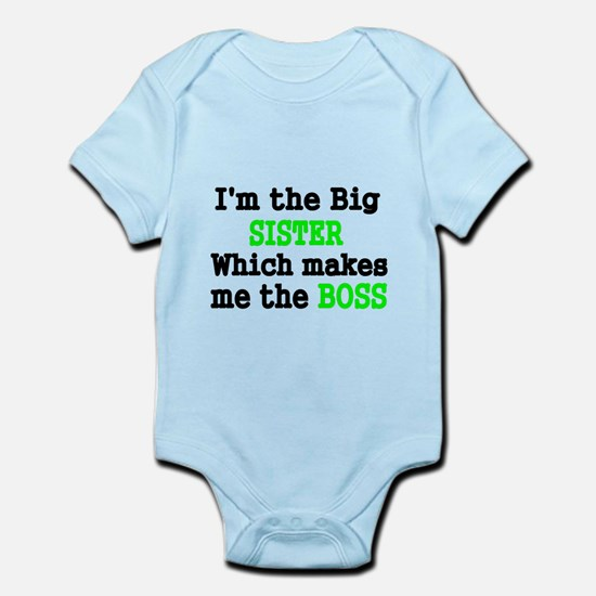 IM THE BIG SISTER WHICH MAKES ME THE BOSS Body Sui