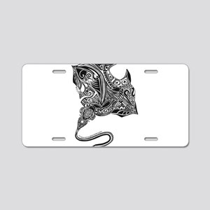 Manta Aluminum License Plate