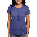 Korean Taekwondo Womens Tri-blend T-Shirt