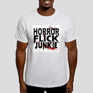 Horror Flick Junkie Light T-Shirt