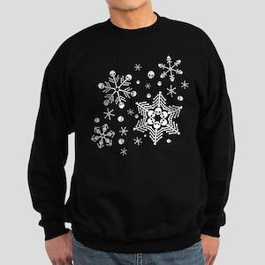 Skull Snowflakes Sweatshirt (dark)