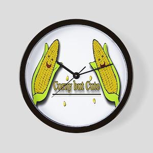 Corny But Cute big Wall Clock