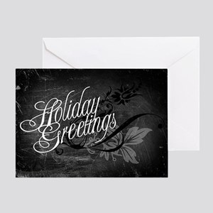 Gothic Holiday Greetings Greeting Card