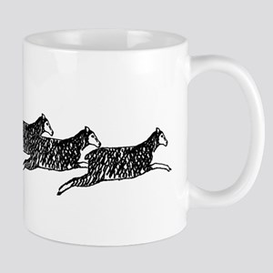Sable Sheltie on Sheep Mug