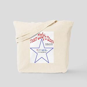 Team Cindy's Stars LTN Tee Tote Bag
