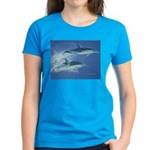 Leaping Dolphins Women's Dark T-Shirt