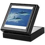 Leaping Dolphins Keepsake Box