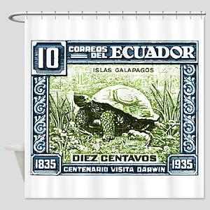 1936 Ecuador Galapagos Tortoise Postage Stamp Show