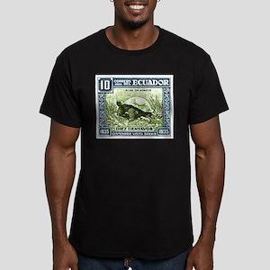 1936 Ecuador Galapagos Tortoise Postage Stamp T-Sh