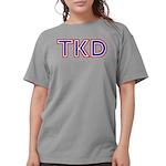 Taekwondo TKD Womens Comfort Colors Shirt