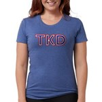 Taekwondo TKD Womens Tri-blend T-Shirt