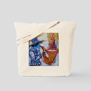 abstract sax Tote Bag