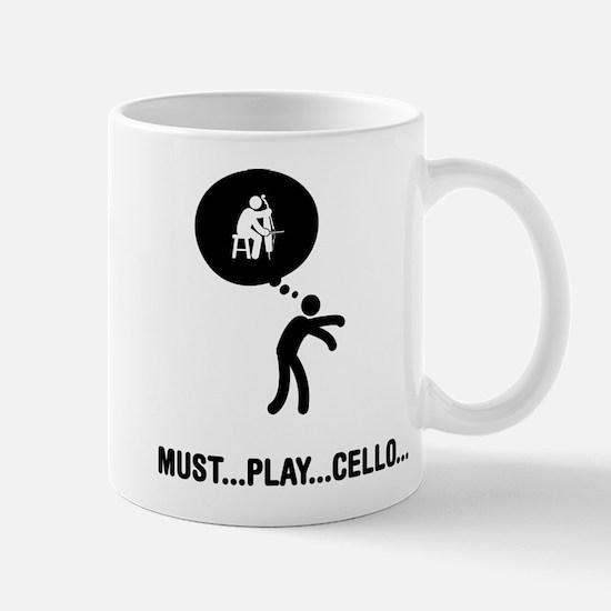 Cello Player Mug