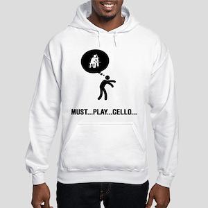 Cello Player Hooded Sweatshirt