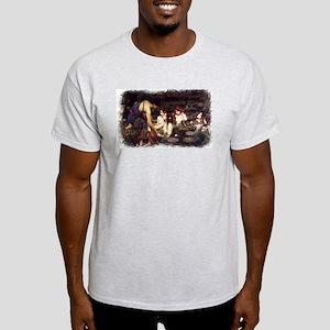 Hylas  Ash Grey T-Shirt