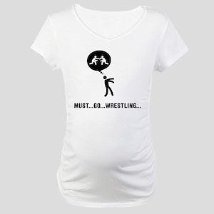 Wrestling Maternity T-Shirt