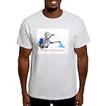 BP's Robot 01 Ash Grey T-Shirt
