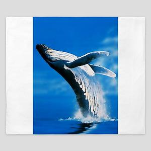 Humpback whale King Duvet