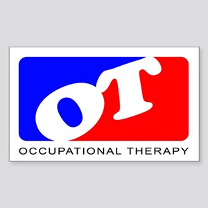 Occupational Therapy Rectangle Sticker