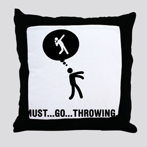 Shot Put Throw Pillow