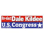 Dale Kildee Bumper Sticker