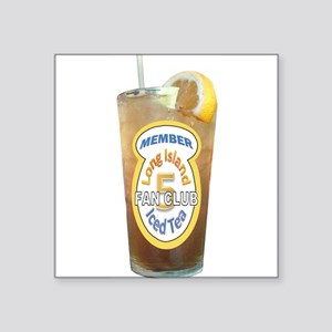 Long Island Iced Tea Fan Club Member Sticker