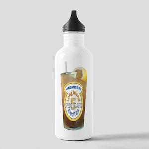 Long Island Iced Tea Fan Club Member Water Bottle
