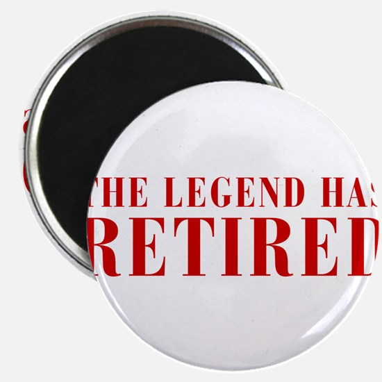 "legend-has-retired-BOD-BROWN 2.25"" Magnet (10 pack"