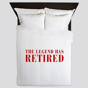 legend-has-retired-BOD-BROWN Queen Duvet