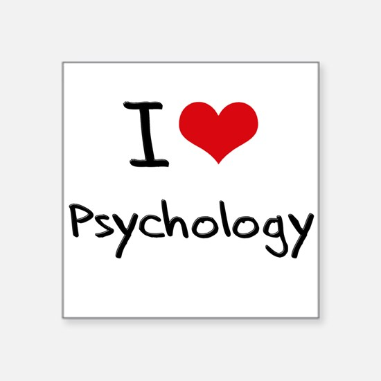 I Love PSYCHOLOGY Sticker